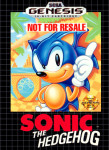 Genesis - Sonic The Hedgehog (Not for Resale) (front)