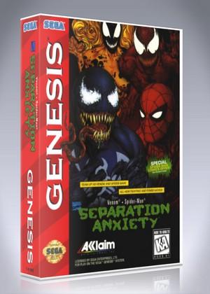 Spider Man Venom Separation Anxiety Retro Game Cases