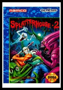 Genesis - Splatterhouse 2 Poster