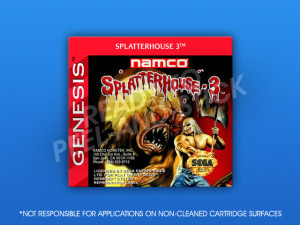 Sega Genesis - Splatterhouse 3