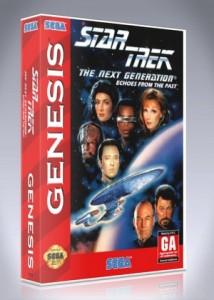 Sega Genesis - Star Trek The Next Generation: Echoes from the Past