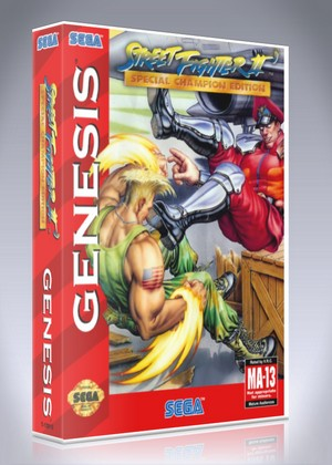 Street Fighter Ii Special Champion Edition Retro Game Cases