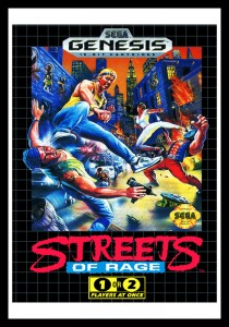 Genesis - Streets of Rage Poster