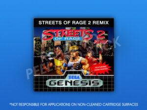 Genesis - Streets of Rage 2: Remix Label
