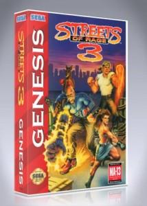 Sega Genesis - Streets of Rage 3