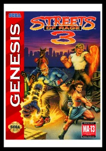 Genesis - Streets of Rage 3 Poster