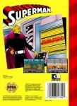 Sega Genesis - Superman (back)