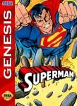 Sega Genesis - Superman (front)