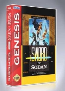 Sega Genesis - Sword of Sodan