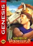 Sega Genesis - Sword of Vermilion (front)