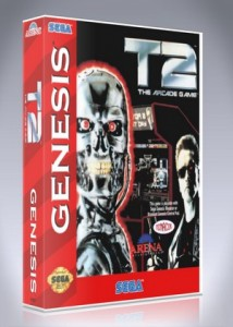 Sega Genesis - T2: The Arcade Game