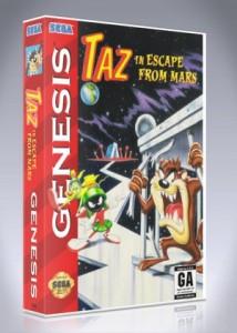 Sega Genesis - Taz In Escape From Mars