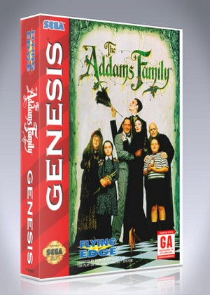 Addams Family The Retro Game Cases