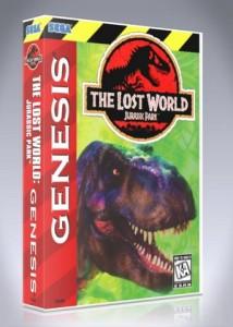 Sega Genesis - The Lost World: Jurassic Park