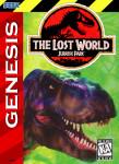 Sega Genesis - The Lost World: Jurassic Park (front)