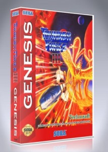 Sega Genesis - Thunder Force III