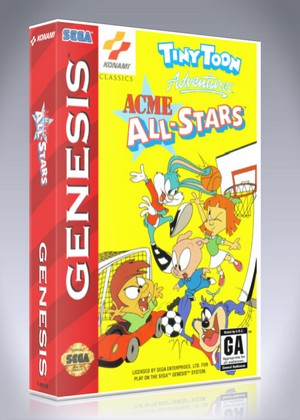 tiny toon adventures sega genesis