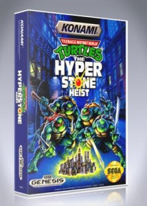 Sega Genesis - TMNT: The Hyperstone Heist