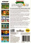 Sega Genesis - TMNT: The Hyperstone Heist (back)