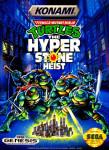 Sega Genesis - TMNT: The Hyperstone Heist (front)