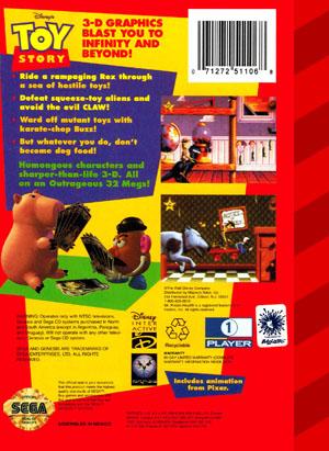 Sega Genesis Toy Story Custom Game Case Retro Game Cases