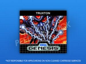 Sega Genesis - Truxton Label