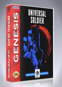 Sega Genesis - Universal Soldier