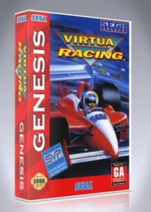 Sega Genesis - Virtua Racing