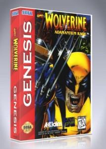 Sega Genesis - Wolverine: Adamantium Rage