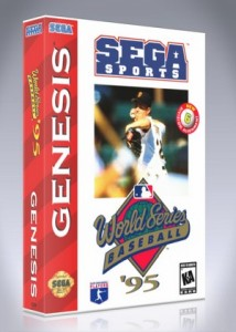 Sega Genesis - World Series Baseball '95