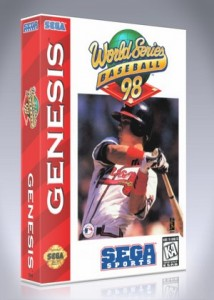 Sega Genesis - World Series Baseball '98