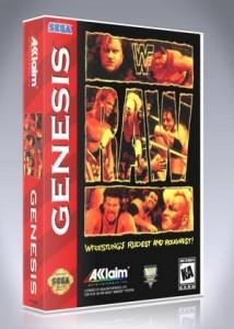 Sega Genesis - WWF Raw