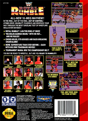Security System Reviews >> WWF Royal Rumble | Retro Game Cases