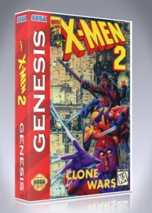 Sega Genesis - X-Men 2: Clone Wars