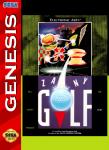 Sega Genesis - Zany Golf (front)
