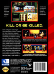 Sega Genesis - Zero Tolerance (back)