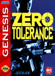 Sega Genesis - Zero Tolerance (front)