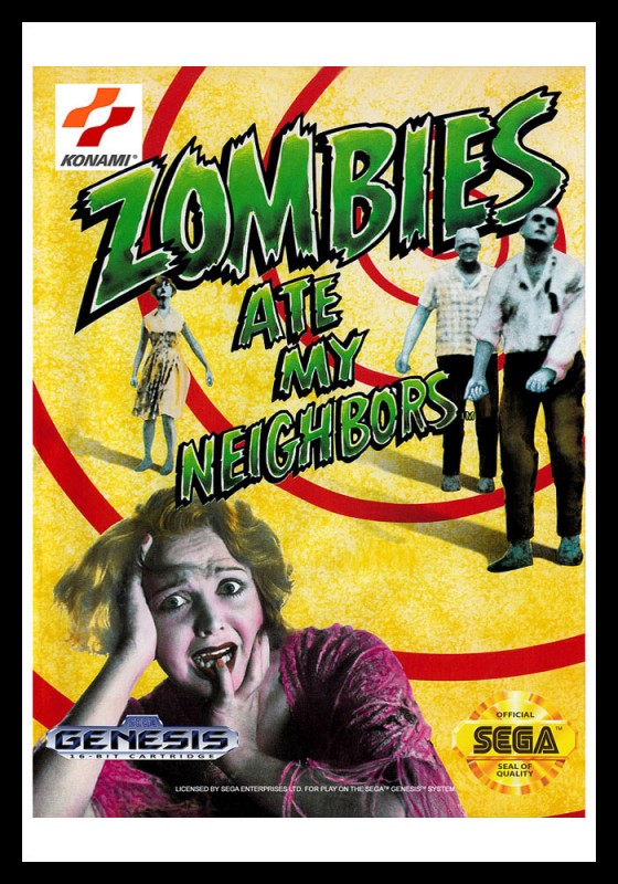 Genesis - Zombies Ate My Neighbors Poster