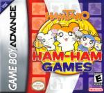 GBA - Hamtaro Ham-Ham Games (front)
