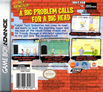 GBA - Hey Arnold! The Movie (back)