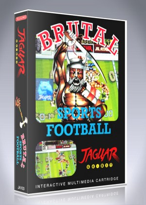 Atari Jaguar - Brutal Sports Football