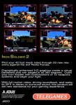 Atari Jaguar - Iron Soldier (back)