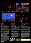 Atari Jaguar - Missile Command 3D (back)