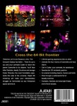 Atari Jaguar - Trevor McFur in the Crescent Galaxy (back)