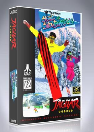 Atari Jaguar - Val d' Isere Skiing and Snowboarding