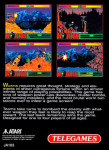 Atari Jaguar - Worms (back)