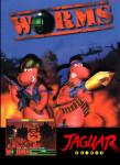 Atari Jaguar - Worms (front)