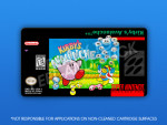 SNES - Kirby's Avalanche Label