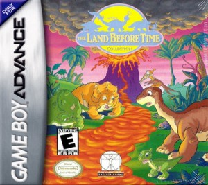 GBA - The Land Before Time Collection (front)