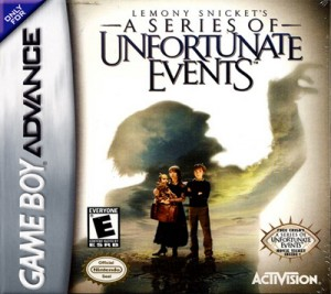GBA - Lemony Snicket's A Series of Unfortunate Events (front)